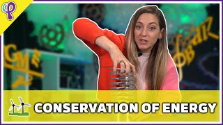 Conservation of Energy - Physics 101 / AP Physics 1 Review with Dianna Cowern