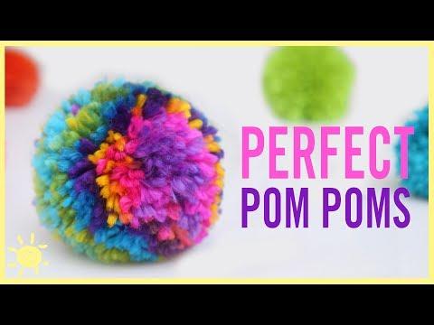 DIY | How to make the Perfect (Rainbow) Pom Pom!