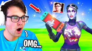 I Challenged FaZe Sway of Nintendo Switch to 1v1 in Fortnite... (BEST Nintendo Switch Player)