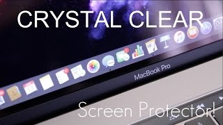 CRYSTAL CLEAR Screen Protection! - 2016 Touch Bar MacBook Pro Screen Protector -  Review / Demo