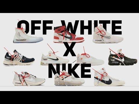 Обзор всех пар OFF-WHITE x NIKE!