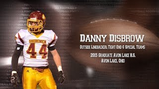 Danny Disbrow – Linebacker_Sports Video