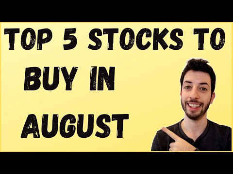 Top 5 Stocks To Buy In August | AAPL | MSFT | PINS | LMND | Ebay | Best Stocks To Buy Now!