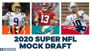 FULL First Round NFL Mock Draft | 2020 Super NFL Mock Draft | CBS Sports HQ