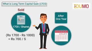 What is Long term capital gain (LTCG) ?