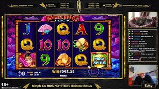 HE DID IT AGAIN! 1189x on PEKING LUCK - BIG WIN / Euky - Slots, Casino