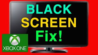 XBOX ONE HOW TO FIX BLACK SCREEN OF DEATH NEW!