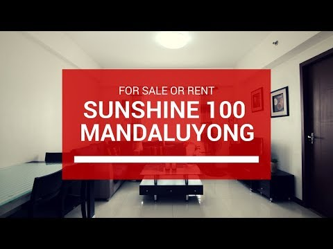 3 BR Fully Furnished Condo in Sunshine 100 in Mandaluyong City for Sale 9M or Rent Php 35,000
