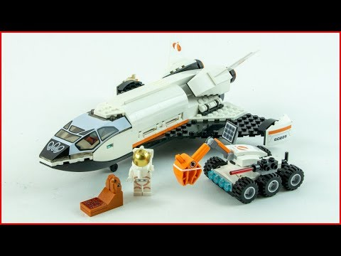 LEGO CITY 60226 Mars Research Shuttle Construction Toy - UNBOXING
