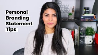 How to Create a Personal Branding Statement