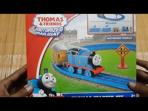 Thomas & Friends Starter Set - Motorized Railway
