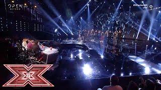 Συγκινητικό αφιέρωμα στον Γιάννη Σπανό | Live 4 | X Factor Greece 2019