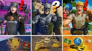 ALL NEW Bosses, Mythic Weapons & Keycard Vault Locations (Batman, Raven, Boss Agent Jones)
