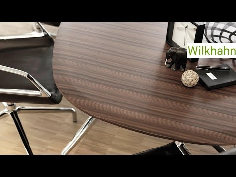 Ergonomic task chairs and dynamic conference tables - #Wilkhahn on