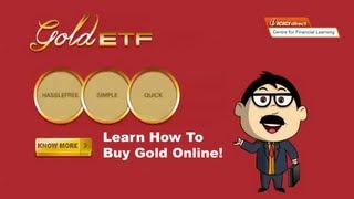 Advantages of online Gold ETF
