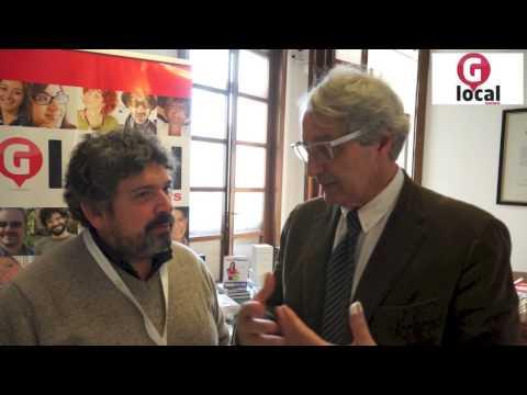 Davide Rampello, il primo relatore a GlocalNews