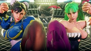 Street Fighter 5 AE Season 3 - All Character Select Animations