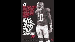 """Alabama Football Inspiration 2018 // 2019 """"We Will Not Be Defeated"""""""