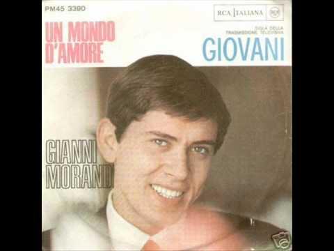 Significato della canzone Un mondo d'amore di Gianni Morandi