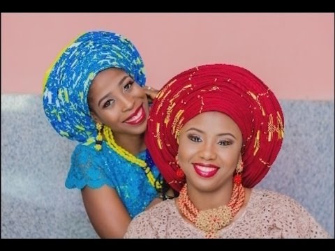 One million pleats Gele with Aso Oke infinity - full tutorial