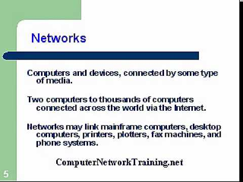 Computer Network Training Course 1.1- Topologies - YouTube