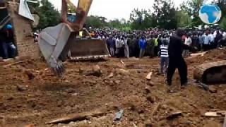 One killed in Kakamega building collapse - VIDEO