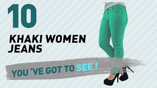 Khaki Women Jeans // New & Popular 2017