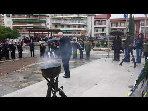 Δοξολογία, κατάθεση στεφάνων και παρέλαση 28ης Οκτωβρίου 2017 στη Βέροια