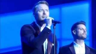 Boyzone - Too Late For Hallelujah - Cheerios Childline Concert Dublin 30/11/14