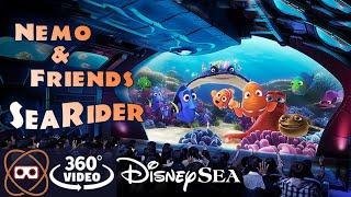 [5K 360] Nemo and Friends SeaRider - Finding Nemo Ride Disneysea - Full 360 POV