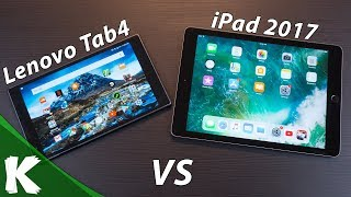 Lenovo Tab4 8 Plus vs iPad 2017 | How Do They Stack Up? | Android vs Apple IOS - dooclip.me