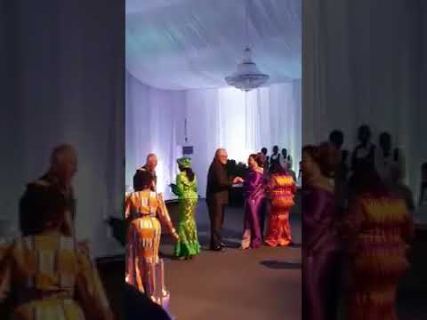 Rawlings and Rebecca Akufo-Addo show off dancing skills at dinner