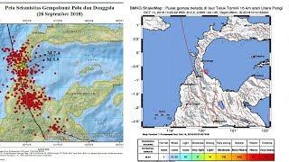 Gempa Susulan 3,3 SR Kembali Guncang Palu
