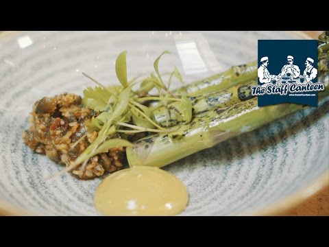 Asparagus, artichoke and chocolate recipes from Brunswick House chef Andrew Clarke