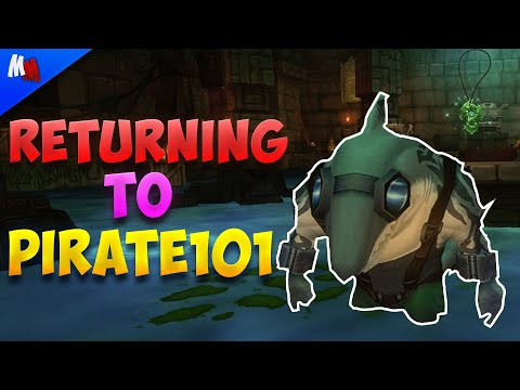 RETURNING to ONE OF MY FAVORITE GAMES (Pirate101)