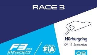 Formula3 - Nurburgring2016 Race 3 Full