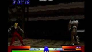 battle arena toshinden 3 Kayin Amoh part 1