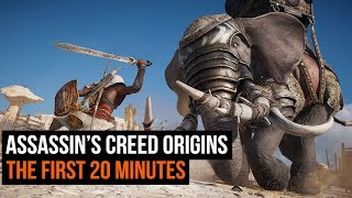 First Look at Assassin's Creed Origins.