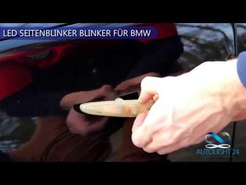 Premium Smoke LED Seitenblinker Blinker für BMW