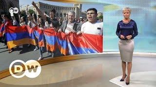 Новые протесты в Армении: Никол Пашинян борется за кресло премьера - DW Новости (02.05.2018)