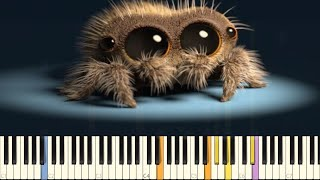 Lucas The Spider - Musical Spider - IMPOSSIBLE REMIX - Piano Cover | Kholo.pk