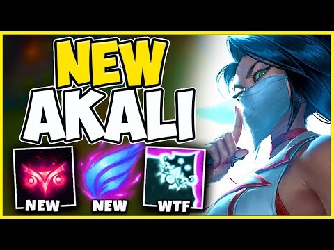 *NEW UPDATE* AKALI IS FINALLY BROKEN AGAIN (ABUSE IN RANKED) - League of Legends