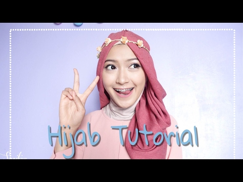 "Video SIMPLE HIJAB TUTORIAL ""7style 1scarf"" 