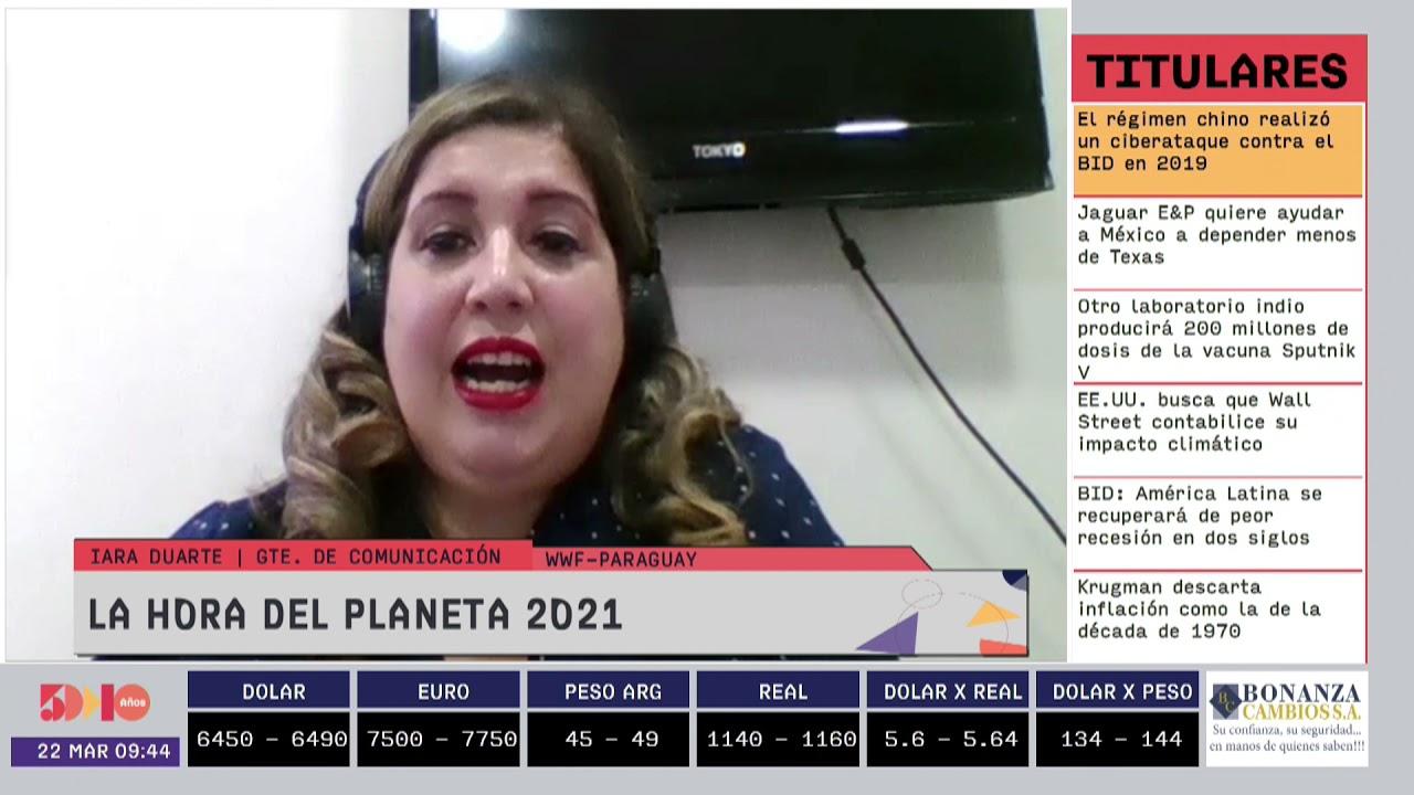 Iara Duarte - La Hora del Planeta 2021
