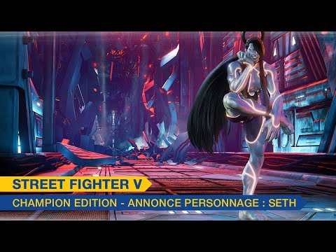 Trailer de Seth de Street Fighter V: Champion Edition
