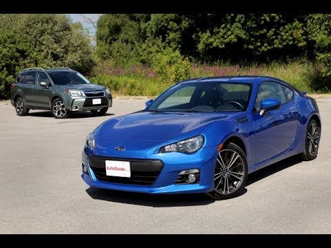 2014 Subaru Forester XT vs 2013 Subaru BRZ Comparison