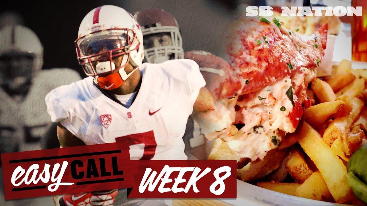 Week 8 college football picks, Florida State vs Clemson, UCLA vs Stanford, lobster roll (Easy Call) thumbnail