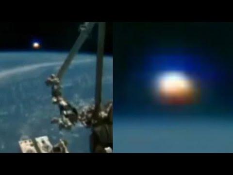 Enorm bolvormig object gevangen op de ISS-livestream