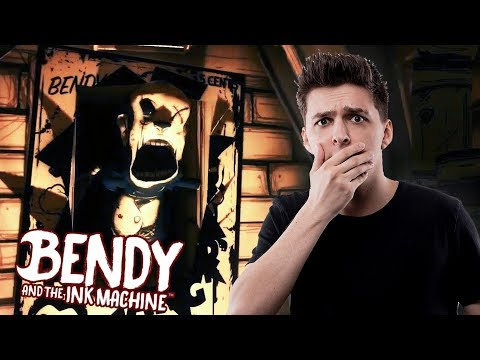 Pohádka z pekla?! | Bendy and the Ink Machine