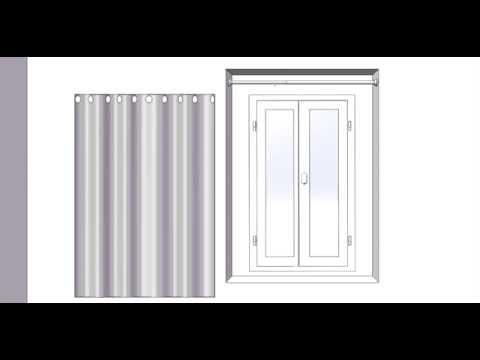 comment poser un rideau sur une porte d 39 entr e la r ponse est sur. Black Bedroom Furniture Sets. Home Design Ideas